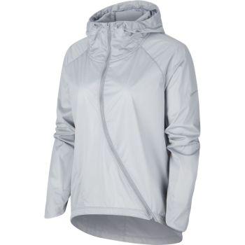 Nike W NK SHLD JKT HD RUNWAY, ženska jakna za trčanje, siva