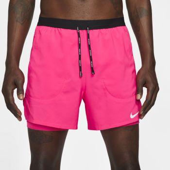 """Nike FLEX STRIDE 5"""" 2-IN-1 RUNNING SHORTS, muški šorc za trčanje, pink"""
