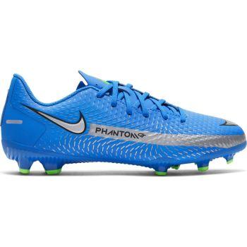 Nike JR PHANTOM GT ACADEMY FG/MG, dečije kopačke za fudbal (fg), plava