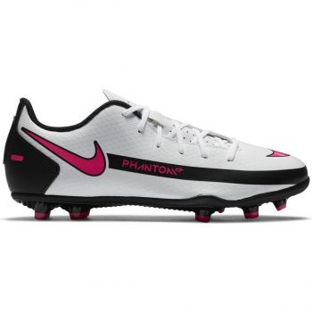 Nike JR PHANTOM GT CLUB FG/MG, dečije kopačke za fudbal (fg), bela