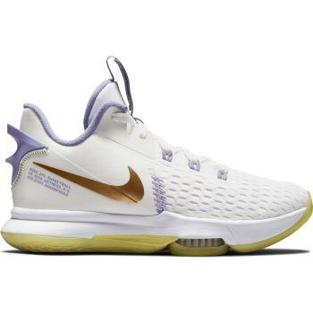 Nike LEBRON WITNESS V, muške patike za košarku, bela