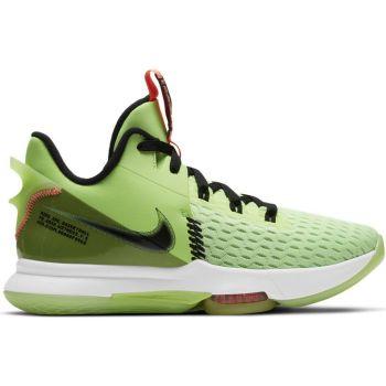 Nike LEBRON WITNESS V, muške patike za košarku, zelena