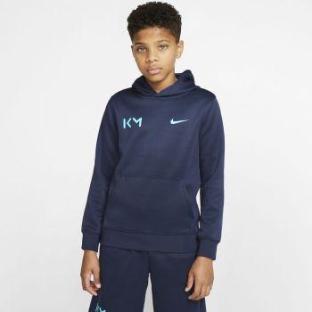 Nike B NSW KM PK PO HOODIE, dečji duks za fudbal, plava