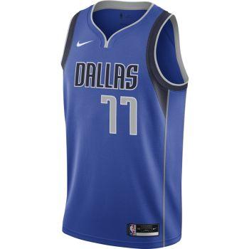 Nike LUKA DONCIC MAVERICKS ICON EDITION 2020 NBA SWINGMAN JERSEY, muška majica, plava
