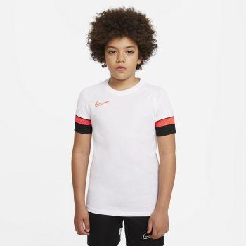 Nike DRI-FIT ACADEMY SHORT-SLEEVE SOCCER TOP, dečji dres za fudbal, bela