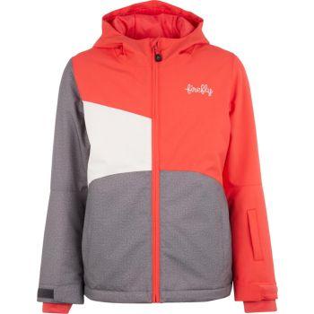 Firefly DANIELLE GLS, dečja jakna za snowboard, siva