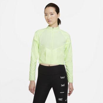 Nike RUN DIVISION WO RUNNING TOP, ženska jakna za trčanje, zelena