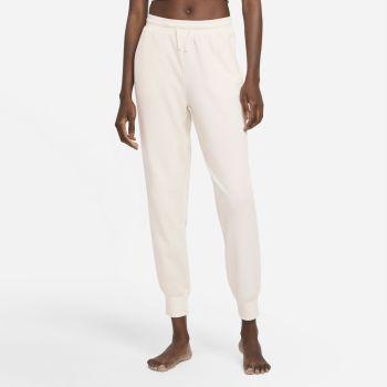 Nike YOGA LUXE DRI-FIT JOGGERS, ženske pantalone za fitnes, bela
