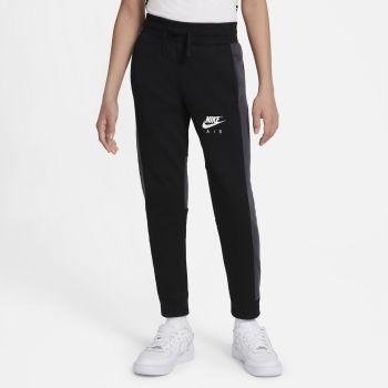 Nike AIR PANTS, dečji donji deo trenerke, crna
