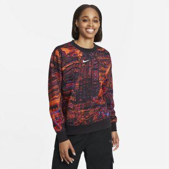Nike SPORTSWEAR DANCE FLEECE CREW, ženski duks, crna