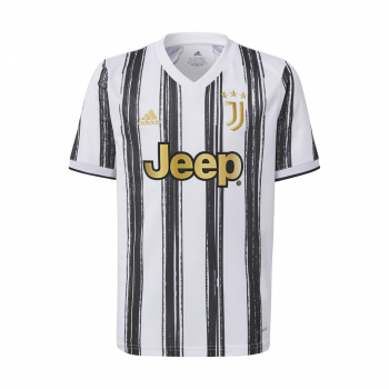 adidas JUVE H JSY Y, dečji dres za fudbal, bela