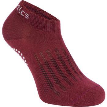 Energetics KENDRA WMS, ženske čarape za fitnes, crvena