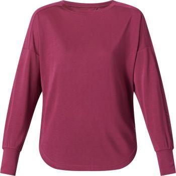 Energetics OMARLY 3 WMS, ženska majica dug rukav za fitnes, crvena