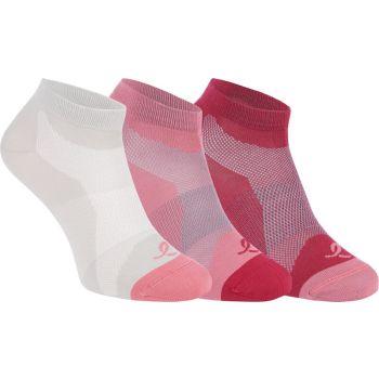 Energetics LAKIS II UX 3-PCK, čarape za trčanje, crvena