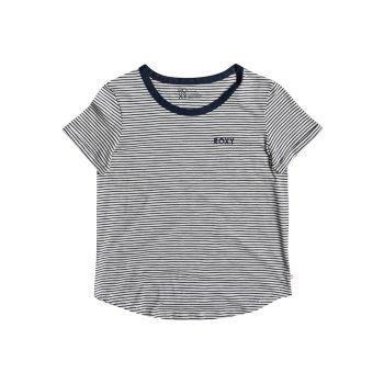 Roxy LOVE SUN TEE SS STRIPE, ženska majica, siva