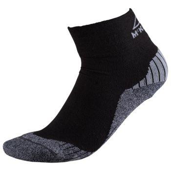 McKinley FLO QUARTER UX, čarape za planinarenje, crna