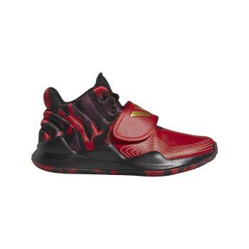 adidas DEEP THREAT J, dečije patike za košarku, crvena