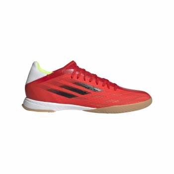 adidas X SPEEDFLOW.3 IN, muške patike za fudbal (in), crvena