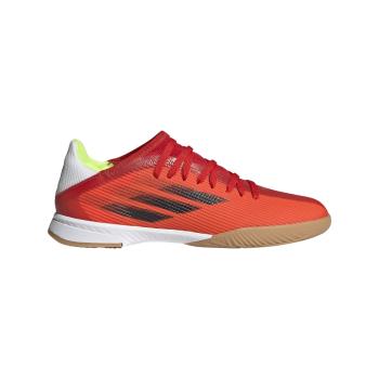 adidas X SPEEDFLOW.3 IN J, dečije patike za fudbal (in), crvena