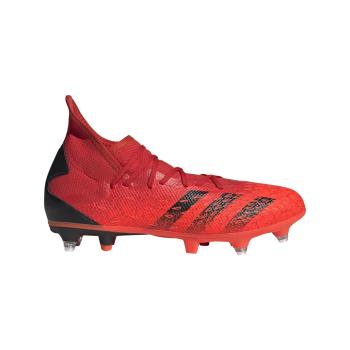 adidas PREDATOR FREAK .3 SG, muške kopačke za fudbal (sg), crvena