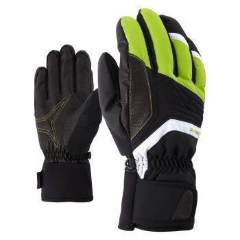 Ziener GALVIN AS®, rukavice za skijanje, zelena