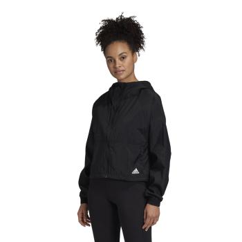 adidas W BOS WV JACKET, ženska jakna za fitnes, crna