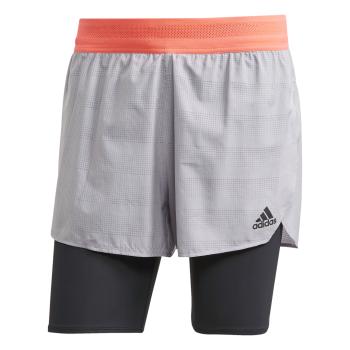 adidas HEAT.RDY SHORT, muški šorc za trčanje, siva