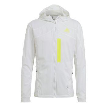 adidas MARATHON JKT M, muška jakna za trčanje, bela