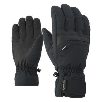 Ziener GLYN GTX® + GORE WARM, rukavice za skijanje, crna