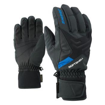 Ziener GOMSER GTX®, rukavice za skijanje, crna