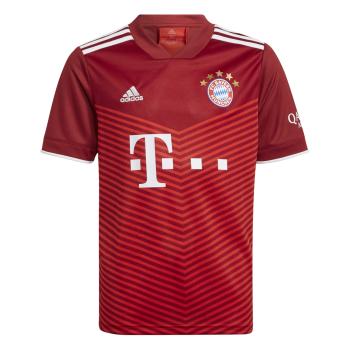 adidas FCB H JSY Y, dečji dres za fudbal, crvena
