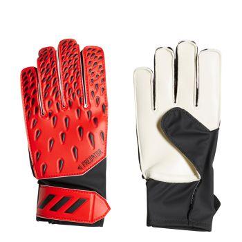 adidas PRED GL TRN J, dečije golmanske rukavice za fudbal, crvena