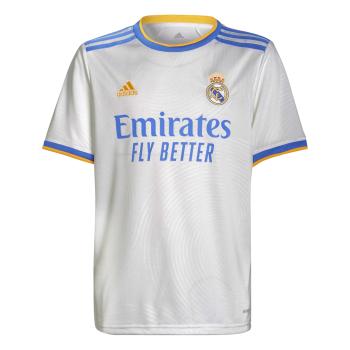 adidas REAL H JSY Y, dečji dres za fudbal, bela