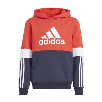 adidas B CB FL HD, dečji duks, crvena