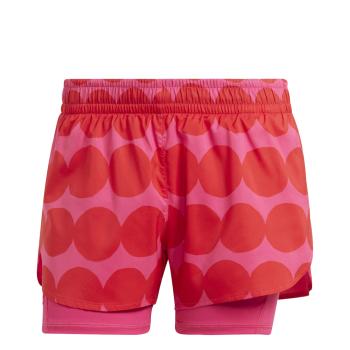 adidas MARIMEKKO 2IN1, ženski šorc za trčanje, crvena