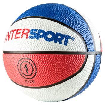 Intersport PROMO INT MINI, mini lopta za košarku, crvena