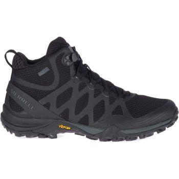 Merrell SIREN 3 MID GTX, ženske planinarske cipele, crna