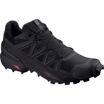 Salomon SPEEDCROSS 5, muške patike za trail trčanje, crna