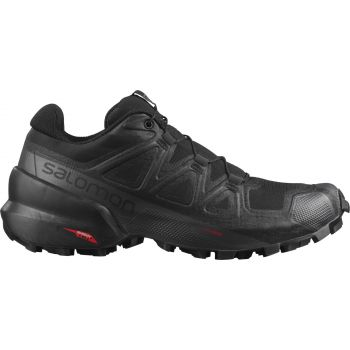 Salomon SPEEDCROSS 5 W, ženske patike za trail trčanje, crna