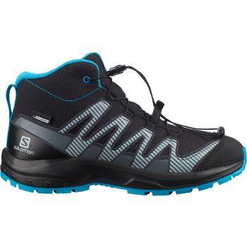 Salomon XA PRO 3D V8 MID CSWP J, dečije planinarske cipele, crna