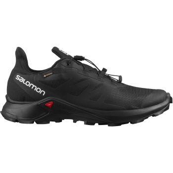 Salomon SUPERCROSS 3 GTX, muške patike za trail trčanje, crna