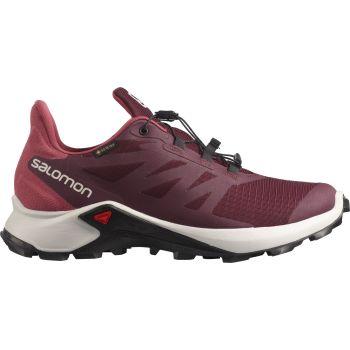Salomon SUPERCROSS 3 GTX W, ženske patike za trail trčanje, crvena