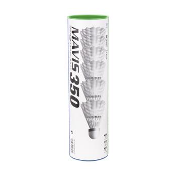 Yonex MAVIS 350 SLOW 6/1, loptica za badminton najlon, bela