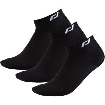 Pro Touch NEW LJUBLJANA 3-PACK UX, čarape za trčanje, crna