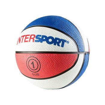 Intersport PROMO INTERSPORT MINI, lopta za košarku, crvena