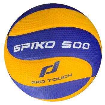 Pro Touch SPIKO 500, indoor lopta za odbojku, žuta