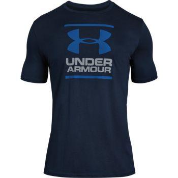 Under Armour UA GL FOUNDATION SS T, muška majica za fitnes, plava