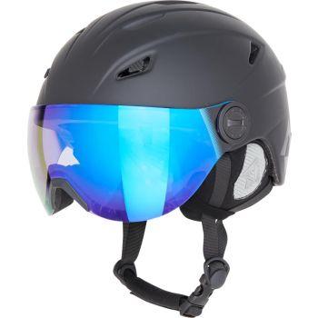 Tecnopro PULSE VISOR PHOTO REVO, kaciga skijaška, crna