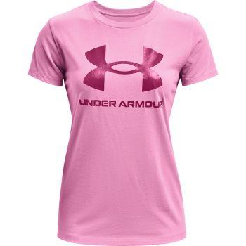 Under Armour LIVE SPORTSTYLE GRAPHIC SSC, ženska majica, pink