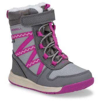 Merrell SNOW CRUSH 2.0 JR WTRPF, dečije cipele, siva
